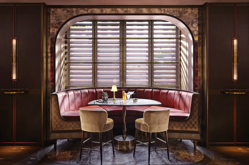 Banquette seating. Photo: Idlewild