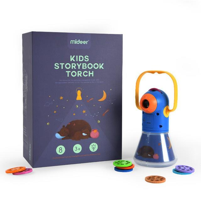 Mideer Kids Story Book Projector Torch Light. PHOTO: Shopee