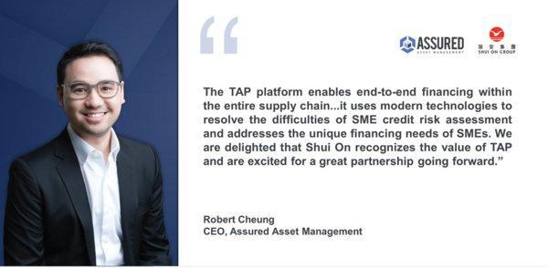 Assured Asset Management Launches Supply Chain Finance Solution with Shui On Group