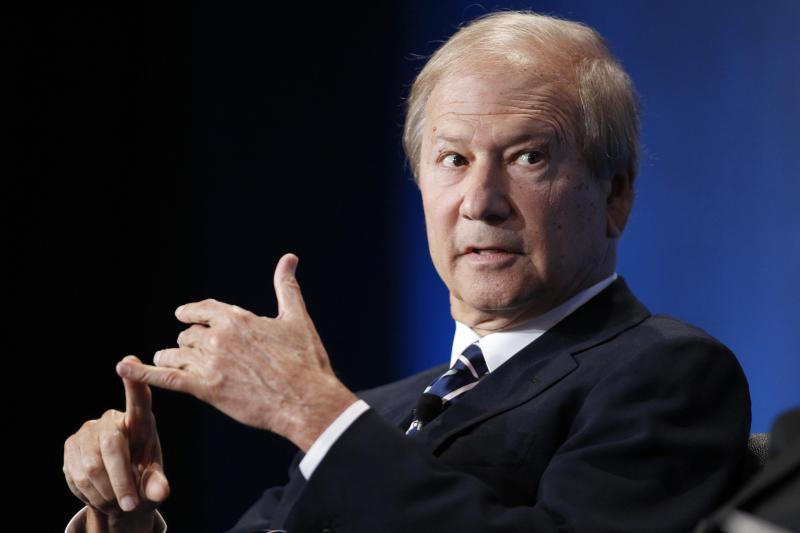 Lewis Katz, Co-Managing Partner, Philadelphia Media Network and former owner of the New Jersey Nets NBA basketball team and the New Jersey Devils NHL hockey team participates in a panel discussion at the Milken Institute Global Conference in Beverly Hills, California in this May 2, 2012 file photo. Katz was among seven people who were killed when a private Gulfstream IV jet caught fire and crashed May 31, 20014 as it tried to take off from a small airfield near Boston, according to local media reports. REUTERS/Danny Moloshok/Files (UNITED STATES - Tags: BUSINESS SPORT OBITUARY MEDIA)