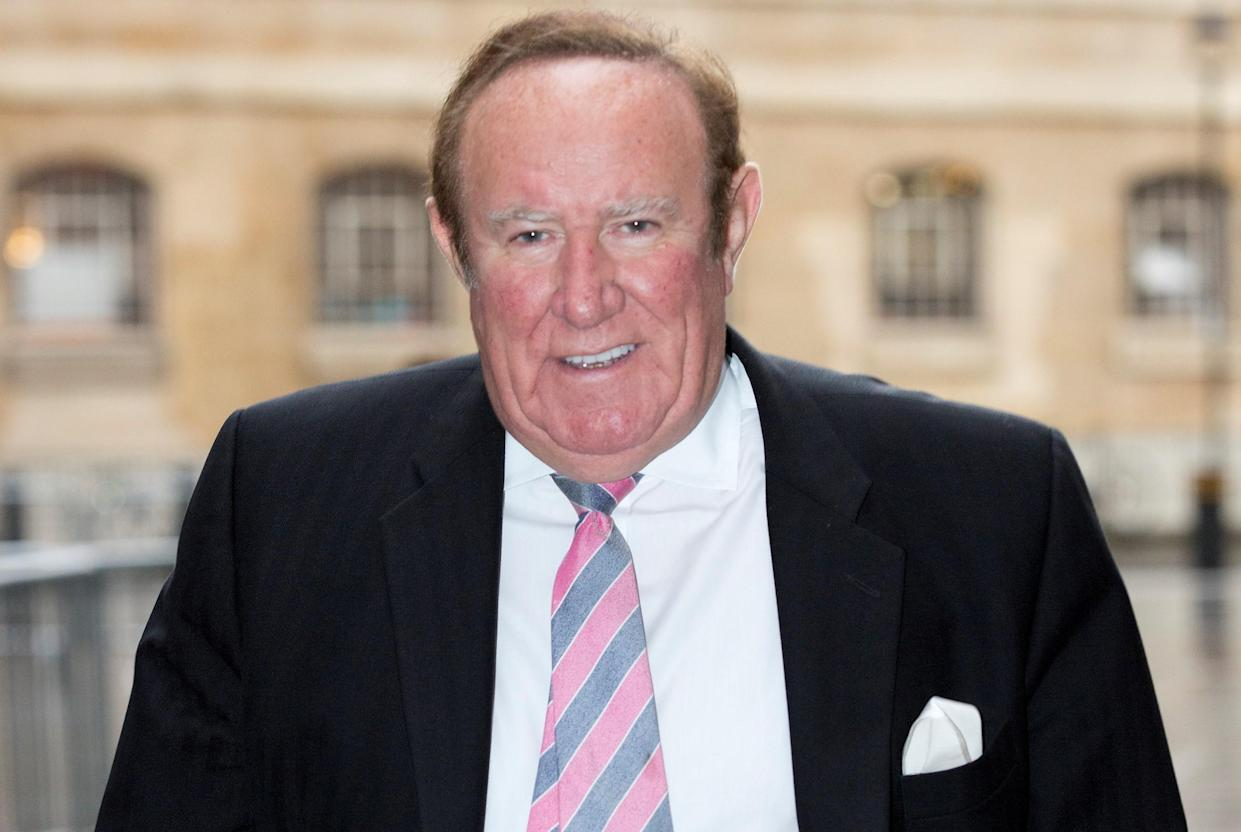 Andrew Neil has said he will never again appear on GB News. (PA)