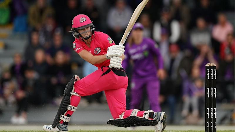 Ellyse Perry's 70no has taken her WBBL tally this season to 351 runs at an average of 117