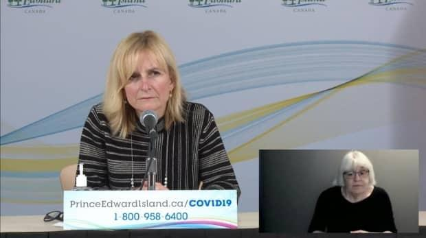 P.E.I. Chief Public Health Officer Dr. Heather Morrison announced that the B117 coronavirus had been detected in a previously announced case from Feb. 4 Saturday afternoon.