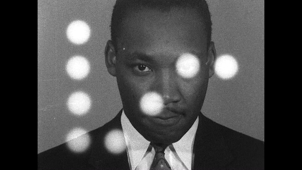 Directed by Sam Pollard, MLK / FBI tells this astonishing and tragic story with searing relevance to our current moment. (Dogwoof)