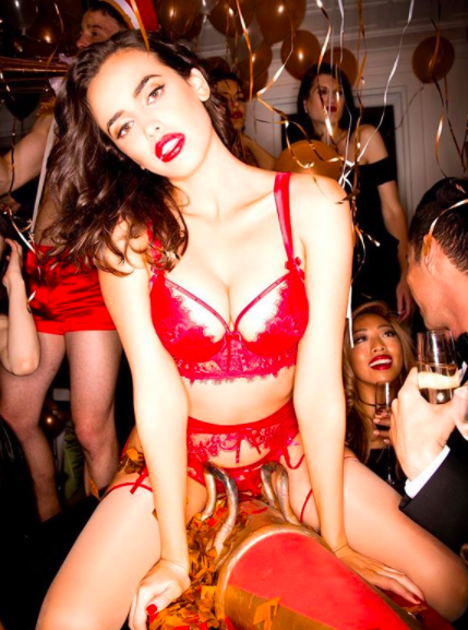Honey Birdette are known for their provocative ads. Photo: Instagram