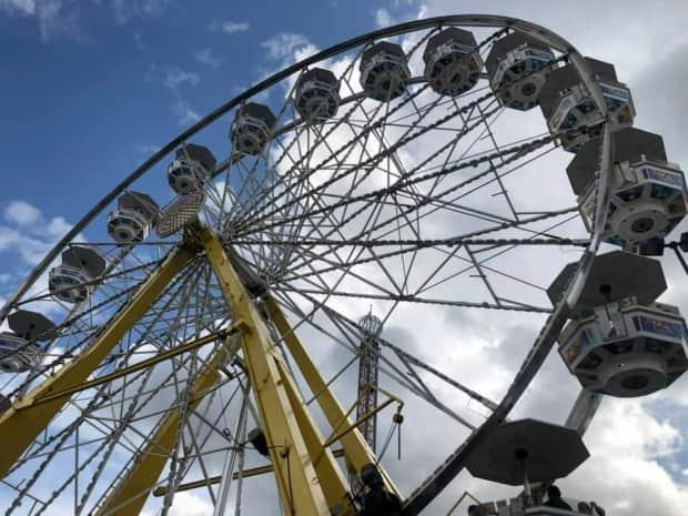 For the second year in a row, Edmonton's K-Days summer carnival is a no-go.  (Wallis Snowdon/CBC - image credit)