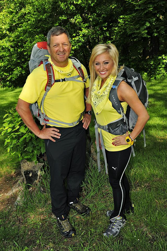 "Father/daughter teammates Gary and Mallory Ervin compete in ""The Amazing Race 17."""