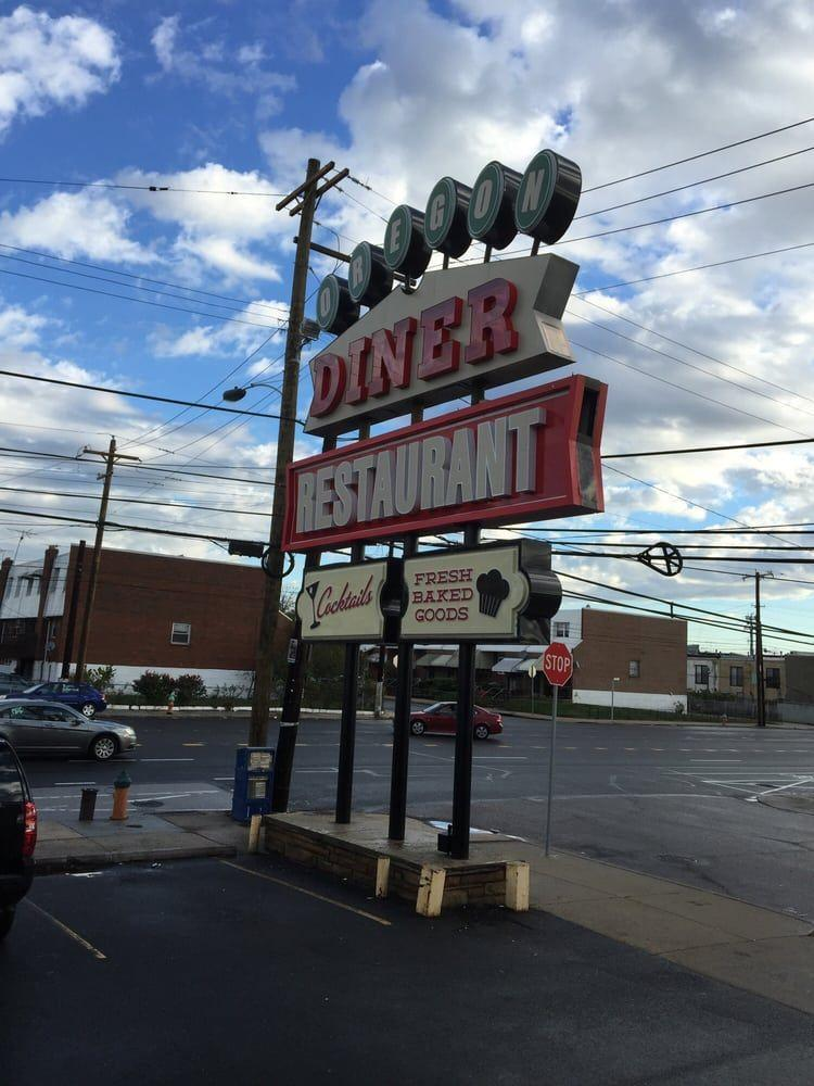"""<p><a href=""""https://www.yelp.com/biz/oregon-diner-philadelphia"""" rel=""""nofollow noopener"""" target=""""_blank"""" data-ylk=""""slk:Oregon Diner"""" class=""""link rapid-noclick-resp"""">Oregon Diner</a> in Philadelphia</p><p>Yelpers stand by this Philly favorite for its gigantic portions, reasonable prices and plethora of specials. Scarf down cheesesteaks, wings and wraps with a brew from the beer list.</p>"""