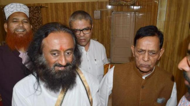 Muslim leaders are holding deliberations among themselves and also with Sri Sri Ravi Shankar to find solution to Ayodhya dispute. They plan to meet PM Modi.