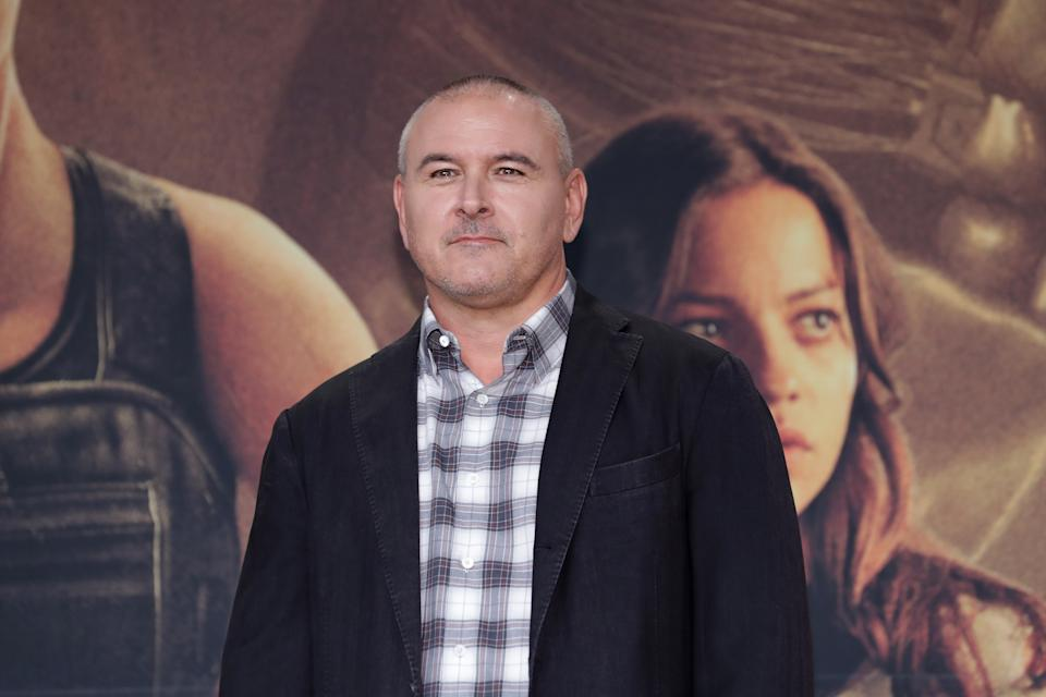 SEOUL, SOUTH KOREA - OCTOBER 21: Director Tim Miller attends during a press conference for 'Terminator: Dark Fate' on October 21, 2019 in Seoul, South Korea. The film will open on October 30, in South Korea.  (Photo by Han Myung-Gu/WireImage)