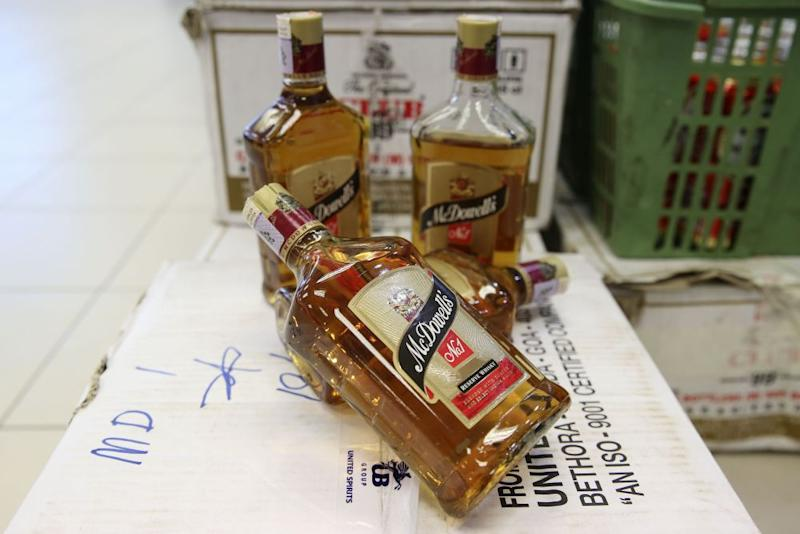 The Malaysian Liquor Manufacture and Bottler Association said the alcohol products consumed by the victims were most likely fake.— Picture by Yusof Mat Isa