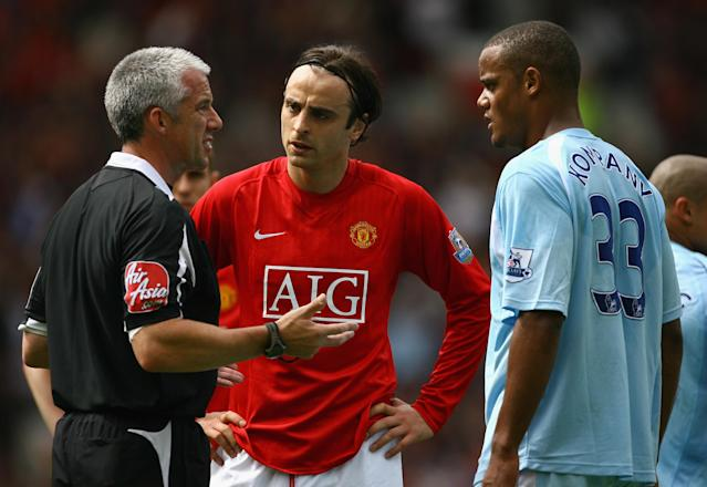 Dimitar Berbatov could have been lining up alongside Vincent Kompany, rather than against him