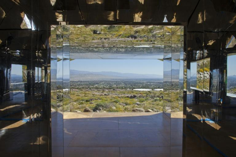 """Doug Aitken's """"Mirage,"""" one of the showstoppers of Desert X, an exhibition of 16 site-specific monumental works by international artists in California's Coachella Valley"""