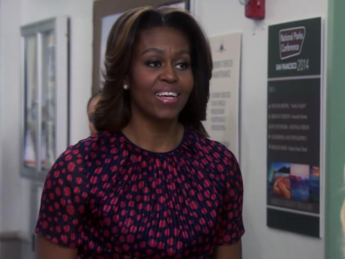 michelle obama parks and rec