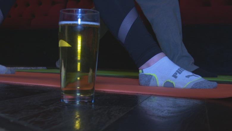 'Beer yoga' helps Windsorites stretch while they sip