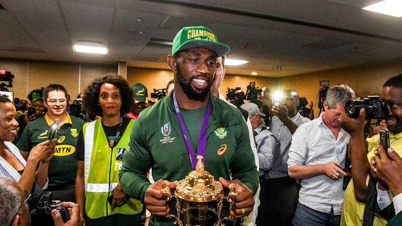 Grateful, humbled and overawed – Kolisi on Springboks' welcome home
