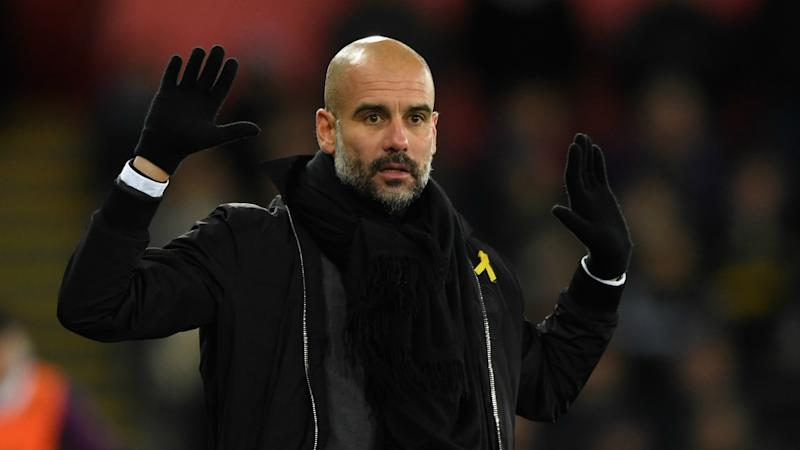 Pep Guardiola charged by FA for wearing pro-Catalunya yellow ribbon