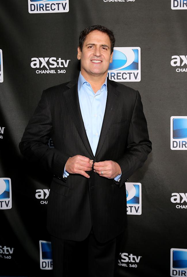 NEW ORLEANS, LA - FEBRUARY 02:  Mark Cuban attends DIRECTV Super Saturday Night Featuring Special Guest Justin Timberlake & Co-Hosted By Mark Cuban's AXS TV on February 2, 2013 in New Orleans, Louisiana.  (Photo by Neilson Barnard/Getty Images for DirecTV)