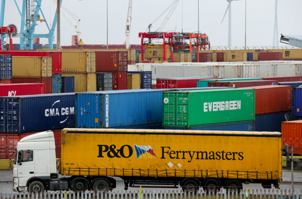 <em>Britain may need to bring in vital goods on ferries after Brexit (Getty)</em>