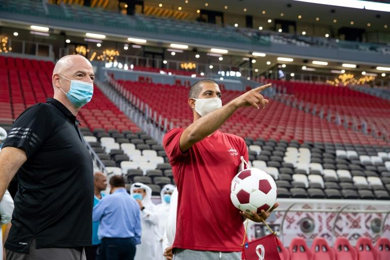 Infantino praises Qatar for defying pandemic with WC preparation