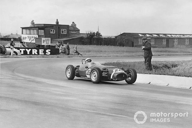 "Stirling Moss, Rob Walker Racing Team Ferguson P99-Climax <span class=""copyright"">LAT Images</span>"