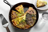 """Make this cabbage-wrapped bacon and cheesy mashed potato pie, share a toast to St. Patrick's Day with your friends, and watch all of your late winter blues disappear. <a href=""""https://www.epicurious.com/recipes/food/views/cabbage-potato-pie?mbid=synd_yahoo_rss"""" rel=""""nofollow noopener"""" target=""""_blank"""" data-ylk=""""slk:See recipe."""" class=""""link rapid-noclick-resp"""">See recipe.</a>"""