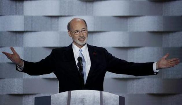 Pennsylvania governor to let state budget become law
