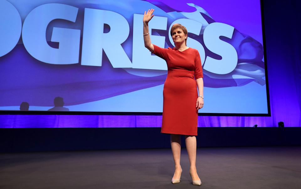 Nicola Sturgeon said in 2017 the Scottish Government would set up a state-owned power firm (Jane Barlow/PA)