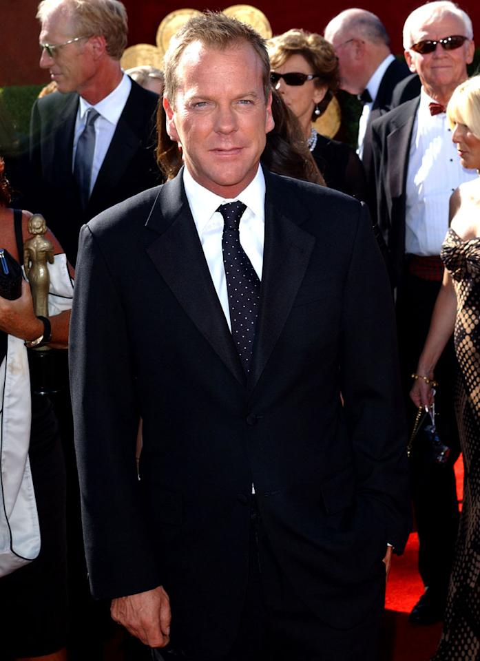 Kiefer Sutherland at the 58th Annual Primetime Emmy Awards in Los Angeles, California on August 27, 2006.