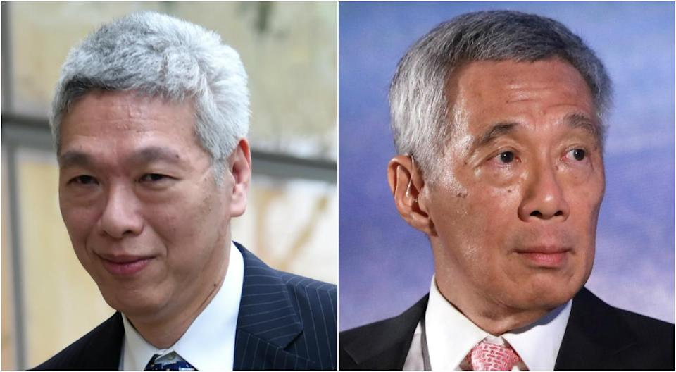Lee Hsien Yang (left) and PM Lee Hsien Loong. (PHOTOS: AFP, Bloomberg via Getty Images)