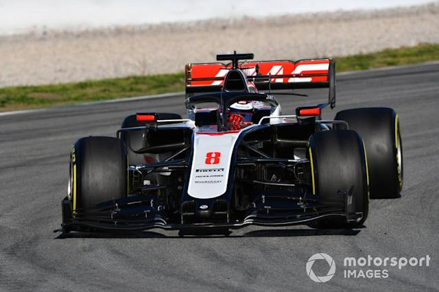 "Romain Grosjean, Haas F1 Team VF-20 <span class=""copyright"">Mark Sutton / Motorsport Images</span>"