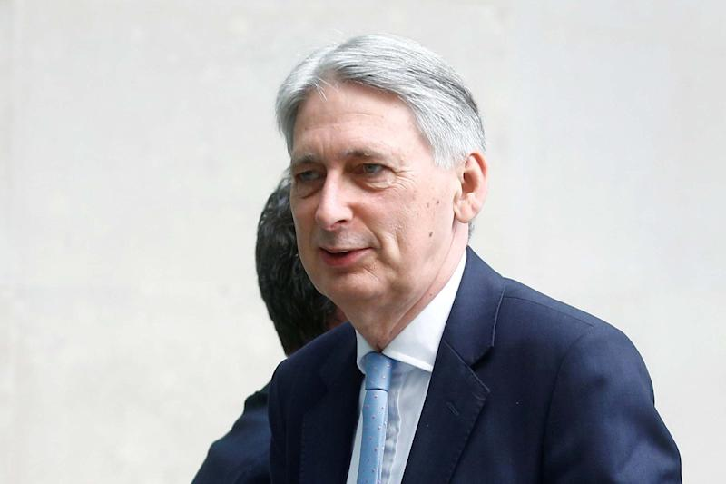Philip Hammond has warned of the dangers of a no-deal Brexit (REUTERS)