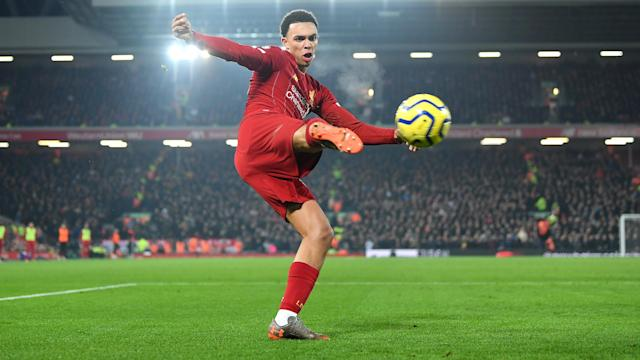 "Liverpool full-back Trent Alexander-Arnold thanked Brazil great Cafu for his ""massive praise""."
