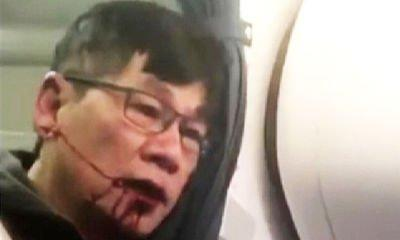 United passenger dragged off plane speaks out after CEO apologises