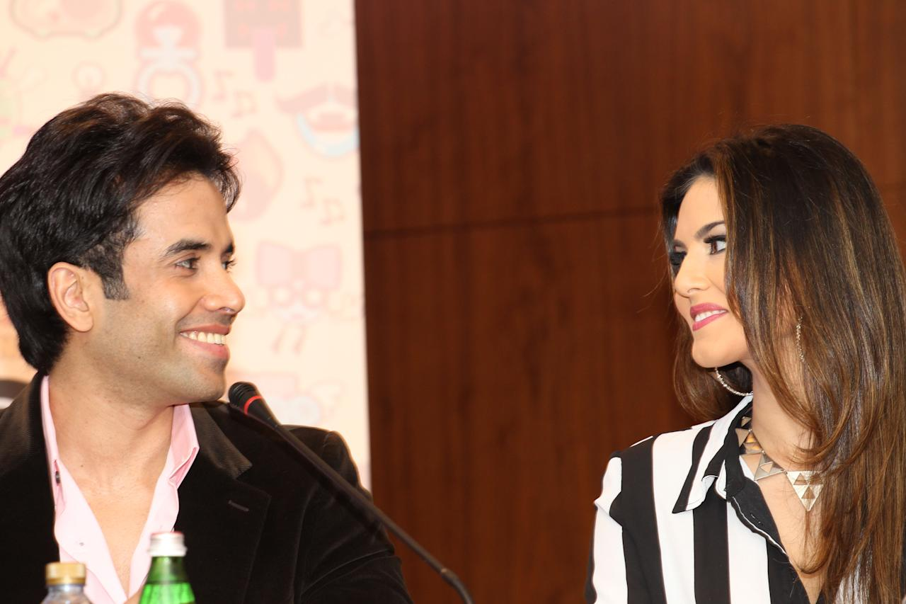 Tushar Kapoor and Sunny Leone talk about their roles in the film. Sanish Cherian/Yahoo! Maktoob