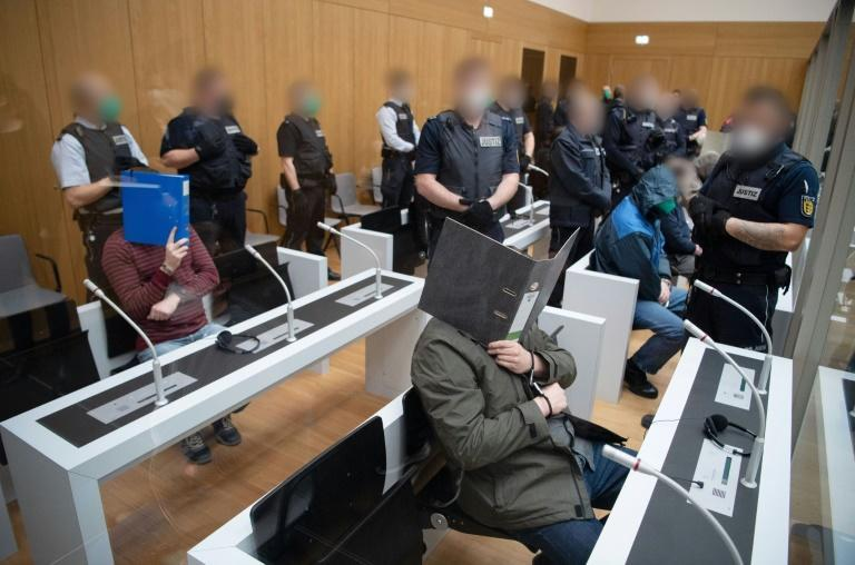 The Gruppe S trial is taking place under high security at Stammheim Prison in Stuttgart