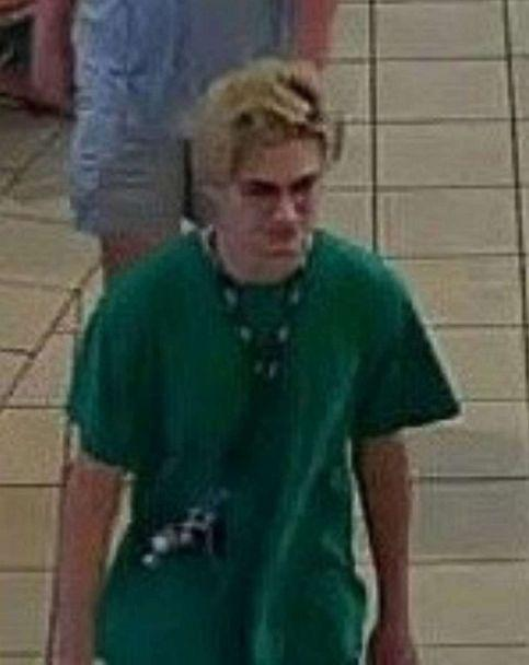 PHOTO: In this image posted to the Twitter account of the Houston Police, the person wanted for questioning in the incident at Memorial City Mall is shown. (Houston Police/Twitter)