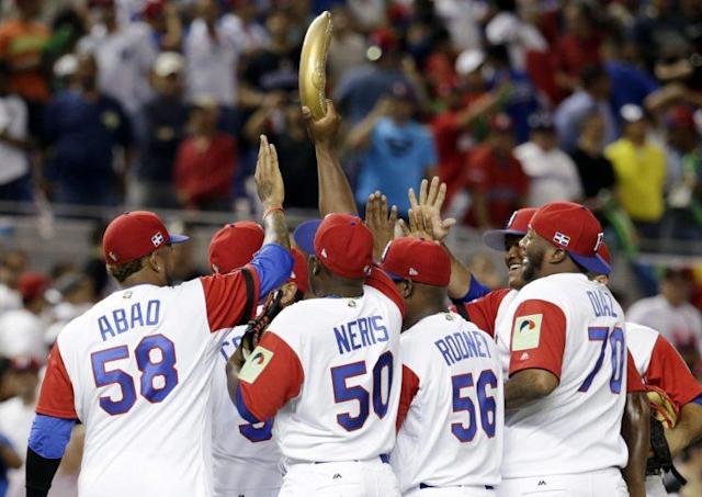 The Dominican Republic and their Rally Platano will prove to be a tough opponent for the U.S. (AP Photo)