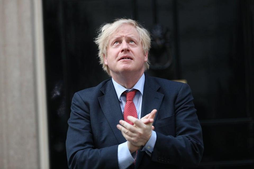 Conservative Party accounts show its central office provided a 'bridging loan' of £52,802 towards the costs of the lavish refurbishment of Boris Johnson's Downing Street flat (Yui Mok/PA) (PA Wire)