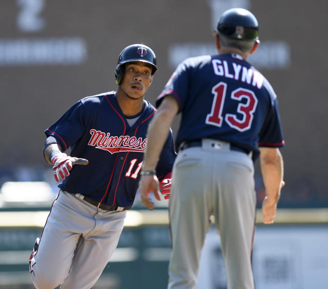 The Minnesota Twins are closing in on the second AL wild-card spot. (AP)