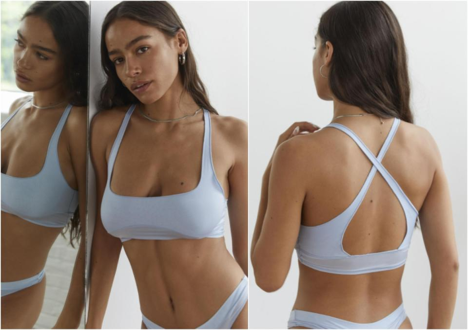 Out From Under Trixie Longline Scoop Bralette