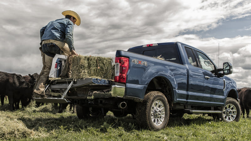 Ford recalling trucks with electric tailgates
