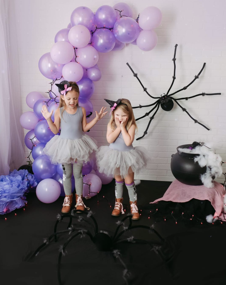 """<p>For toddlers, a gray tutu and leotard combined with an offset witch hat yields a look that's a cross between a ballerina and a witch. Who could say no to that?!</p><p><a class=""""link rapid-noclick-resp"""" href=""""https://www.amazon.com/belababy-Toddler-Halloween-Costume-Tutu/dp/B072WMLS93?tag=syn-yahoo-20&ascsubtag=%5Bartid%7C10072.g.33534666%5Bsrc%7Cyahoo-us"""" rel=""""nofollow noopener"""" target=""""_blank"""" data-ylk=""""slk:SHOP TUTU"""">SHOP TUTU</a></p><p><a class=""""link rapid-noclick-resp"""" href=""""https://www.amazon.com/WEGETIT-Toddler-Leotards-Gymnastics-Sleeve/dp/B07BFQHPLB?tag=syn-yahoo-20&ascsubtag=%5Bartid%7C10072.g.33534666%5Bsrc%7Cyahoo-us"""" rel=""""nofollow noopener"""" target=""""_blank"""" data-ylk=""""slk:SHOP LEOTARD"""">SHOP LEOTARD</a></p><p><a class=""""link rapid-noclick-resp"""" href=""""https://www.amazon.com/HLHXMWXY-Halloween-Hairband-Festival-Decoration/dp/B07WDX9DTC?tag=syn-yahoo-20&ascsubtag=%5Bartid%7C10072.g.33534666%5Bsrc%7Cyahoo-us"""" rel=""""nofollow noopener"""" target=""""_blank"""" data-ylk=""""slk:SHOP WITCH HAT HEADBAND"""">SHOP WITCH HAT HEADBAND</a></p>"""