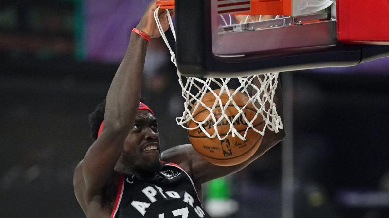 Raptors' fightback continues as they win to level Celtics series