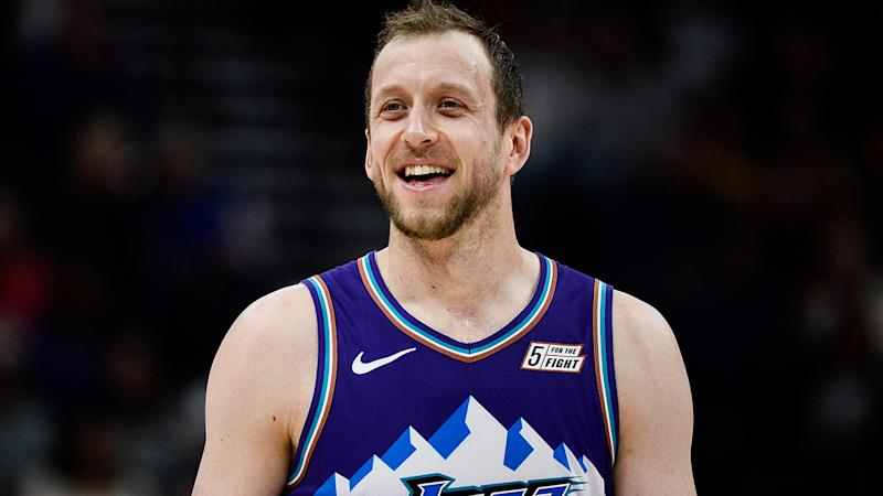 After a slow start to the season, is the Utah Jazz's Joe Ingles finally starting to regain his form from the previous few seasons? (Photo by Alex Goodlett/Getty Images)