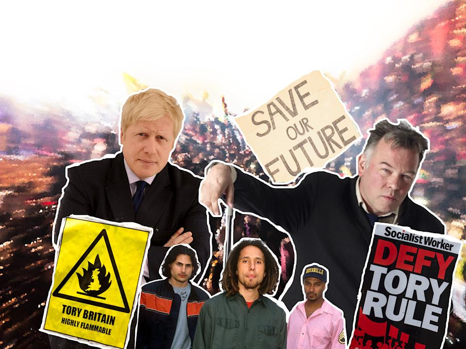 Music fans have increasingly turned to the singles chart as a means of protesting against the UK government (Getty Images)