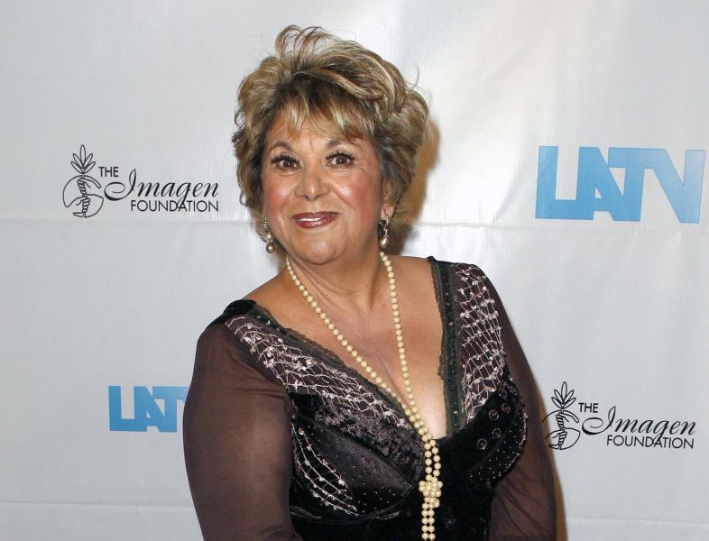 """FILE - This Aug. 21, 2008 file photo shows actress Lupe Ontiveros at the 23rd Annual Imagen Awards in Beverly Hills, Calif. Ontiveros, the popular Texan actress known for her portrayal of Yolanda Saldivar in """"Selena,"""" died Thursday, July 26, 2012, of cancer at the Presbyterian Hospital in the City of Whittier, Calif., according to friend and comedian Rick Najera. She was 69. (AP Photo/Gus Ruelas, file)"""