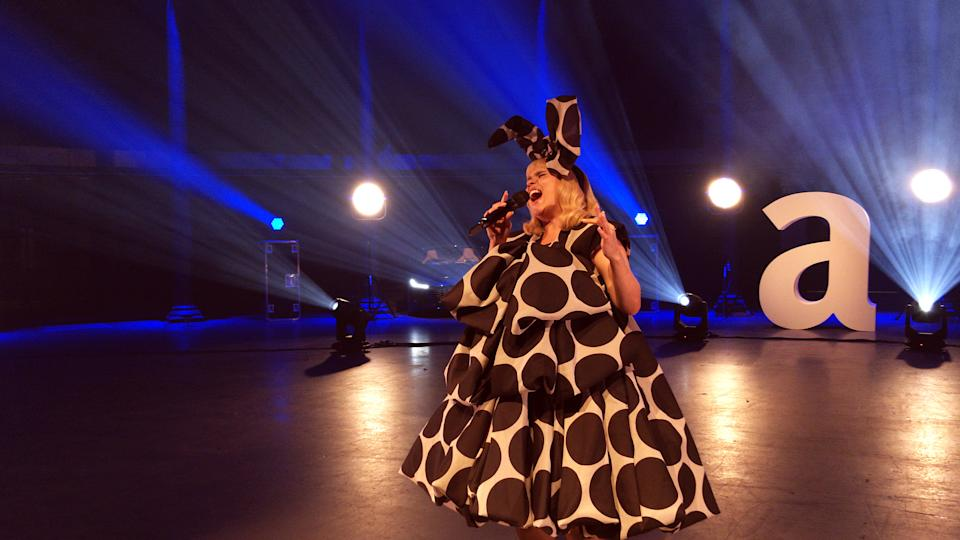 UNSPECIFIED:  In this image released on December 1, 2020, Singer Paloma Faith performs during the Virgin Atlantic Attitude Awards Powered By Jaguar broadcast on  December 01, 2020 in London, England. (Photo by Attitude Magazine/Attitude Magazine via Getty Images)