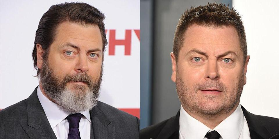 <p><strong>Signature: </strong>Long beard </p><p><strong>Without Signature: </strong>At an Oscars after-party in 2020 with only light scruff. </p>