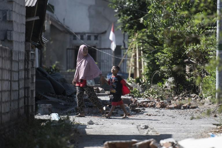 A series of deadly quakes have killed hundreds on Indonesia's Lombok island in recent weeks
